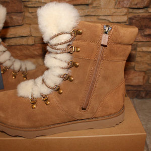 UGG Shoes - UGG VIKI SUEDE WATERPROOF GIRL'S WINTER BOOTS NEW!